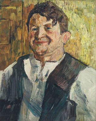 Gus Mager, Self Portrait