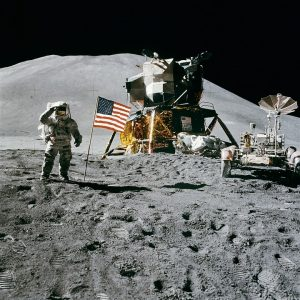 Picture of Lunar Lander and Astronaut